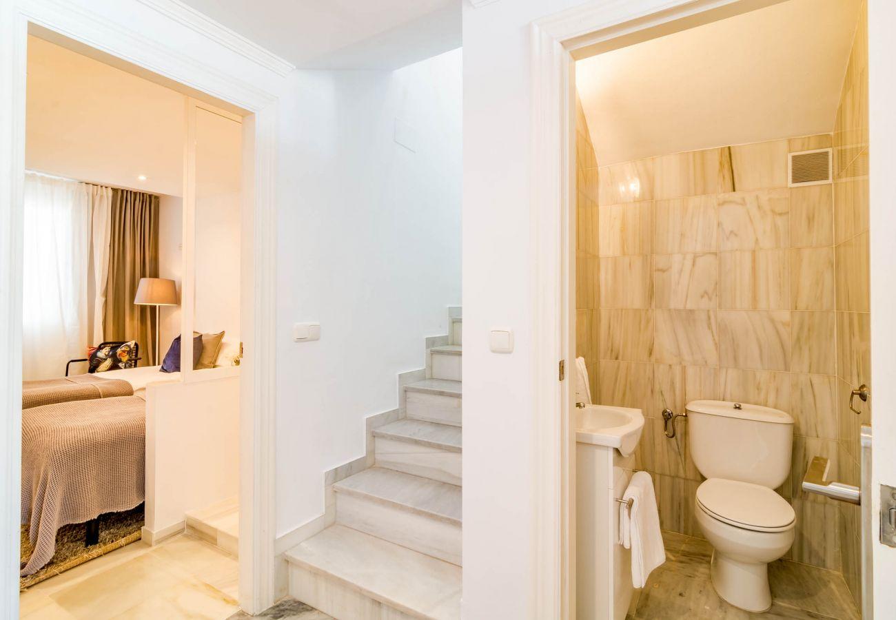 Bathroom of Luxury 3 Bedroom Penthouse in Nueva Andalucia
