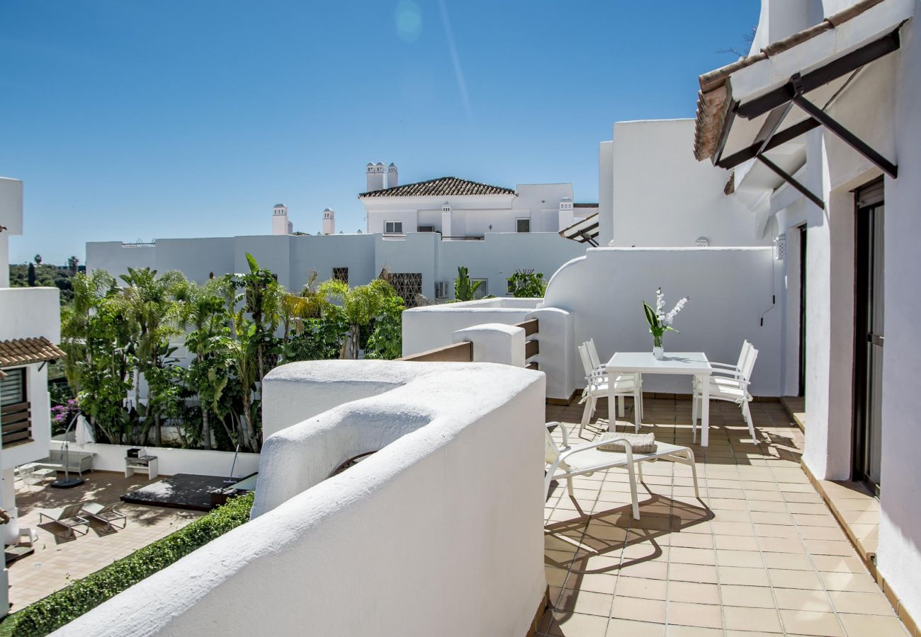 Views of family friendly holiday Apartment in Golf Hills